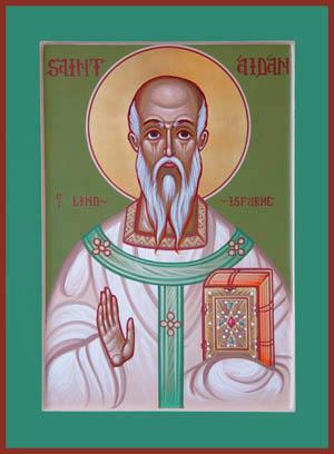 Aidan, episcop de Lindesfarne