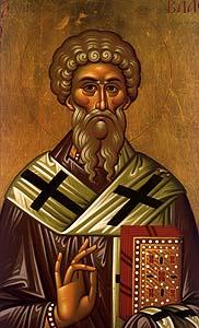 Sfântul Sfintitul Mucenic Vlasie