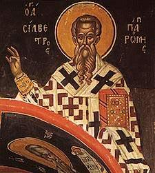 Sf. Silvestru, papa Romei