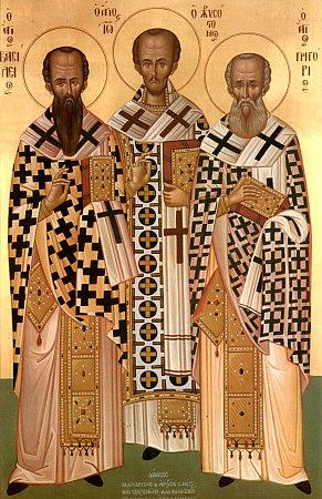 Sfintii Trei Ierarhi, Vasile, Grigore si Ioan