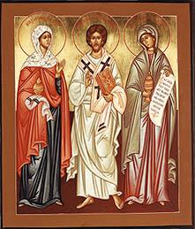 Lazar cu Marta si Maria