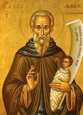 Cuviosul Părinte Stelian Paflagonul