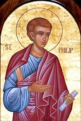 Apostolul Filip, unul din cei 7 diaconi