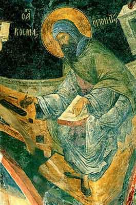 Cuviosul Părinte Cozma, Episcopul Maiumei, făcătorul de canoane