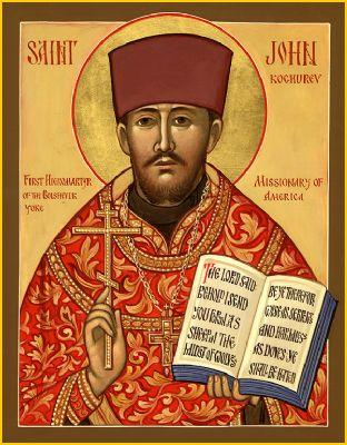 Sf. Ioan Kochurov, Misionar Ieromartir din America