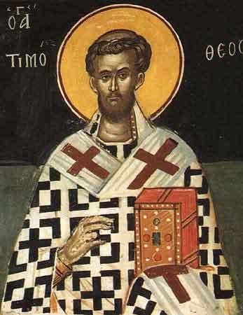 Sfantul sfintitul mucenic Timotei episcopul Prusei
