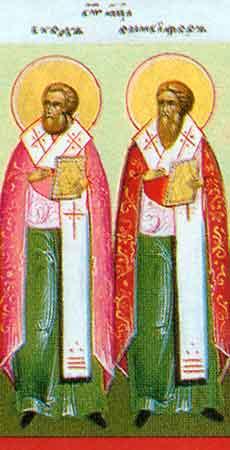 Sfintii Apostoli Evod si Onisifor